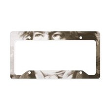 Beethoven In Sepia License Plate Holder