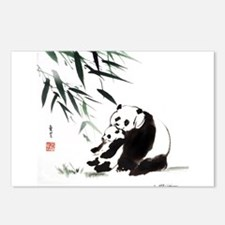 Mom and Child_Panda Postcards (Package of 8)