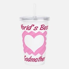 World's Best Godmother Acrylic Double-wall Tumbler