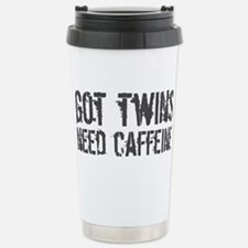 Cute Dad twins Travel Mug