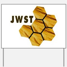James Webb Mirror Logo Yard Sign