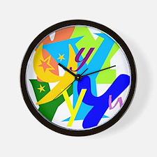Initial Design (Y) Wall Clock