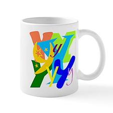 Initial Design (Y) Mugs