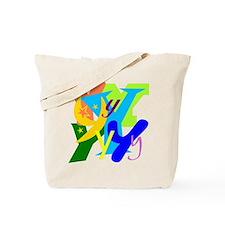 Initial Design (Y) Tote Bag
