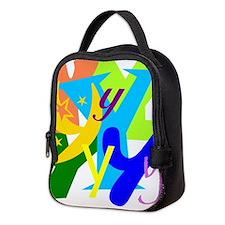 Initial Design (Y) Neoprene Lunch Bag