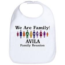 AVILA reunion (we are family) Bib