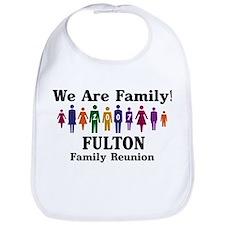 FULTON reunion (we are family Bib