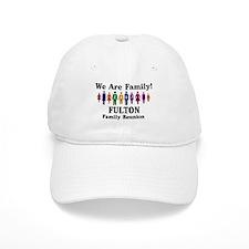 FULTON reunion (we are family Baseball Cap