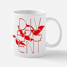 Divergent Fashion Red Mugs