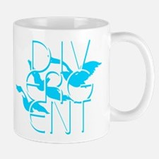 Divergent Faction Blue Mugs