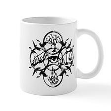 Faction Diverge Black Mugs