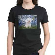 Cute Bichon frise art Tee