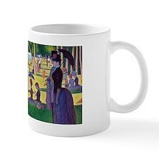 A Sunday Afternoon on La Grande Jatte b Small Mug