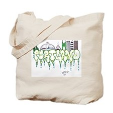 Portland Rain Tote Bag