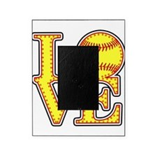 LOVE SOFTBALL STITCH Print Picture Frame