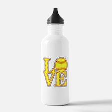 LOVE SOFTBALL STITCH P Water Bottle