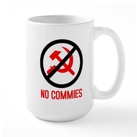 No Commies! Large Mug