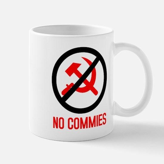 No Commies! Mug