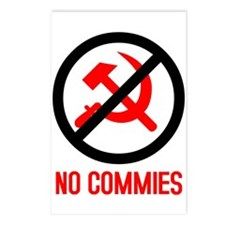 No Commies! Postcards (8)