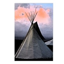 Stormy Teepee C - Postcards (Package of 8)