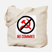 No Commies! Tote Bag
