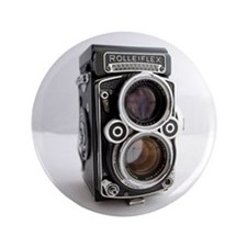 "Vintage Camera 3.5"" Button (100 pack)"