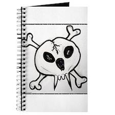vampire,skull, cross bones art Journal