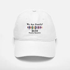 HUNT reunion (we are family) Baseball Baseball Cap