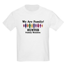 HUNTER reunion (we are family T-Shirt