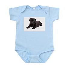 Black Pug Body Suit