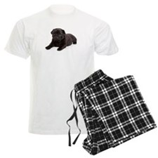 Black Pug pajamas