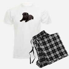 Black Pug pajamas
