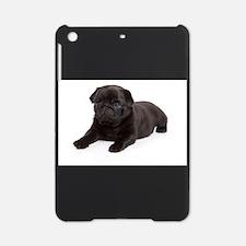 Black Pug iPad Mini Case