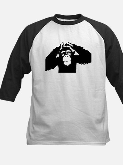 Chimpanzee Icon Kids Baseball Jersey