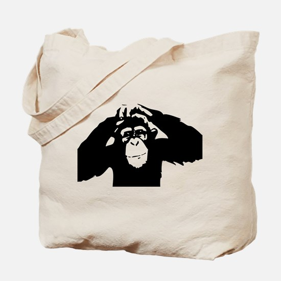 Chimpanzee Icon Tote Bag