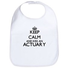 Keep calm and kiss an Actuary Bib