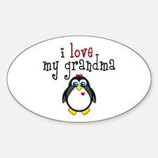 Grandma Penguin Decal