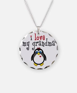 Grandma Penguin Necklace