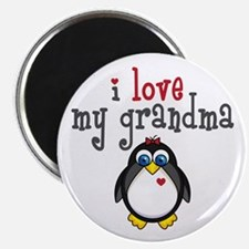 """Grandma Penguin 2.25"""" Magnet (10 pack)"""