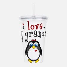 Grandma Penguin Acrylic Double-wall Tumbler