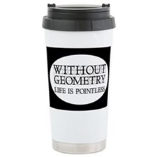 Unique Geometry Travel Mug