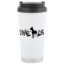 Unique Great dane Travel Mug