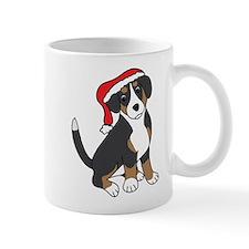 Santa Entlebucher Mountain Dog Mugs
