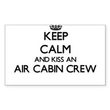 Keep calm and kiss an Air Cabin Crew Decal