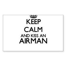 Keep calm and kiss an Airman Decal