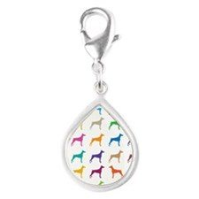 Colorful Dobermans Charms