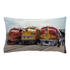 Three Diesels 1989 Pillow Case