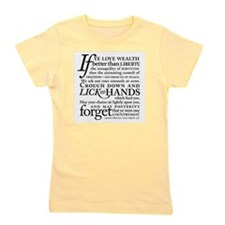 Cute American revolution Girl's Tee
