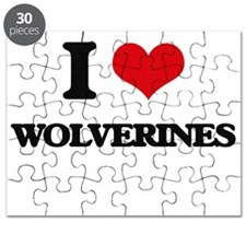 I love Wolverines Puzzle