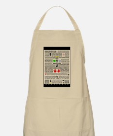 Quote Poster Apron